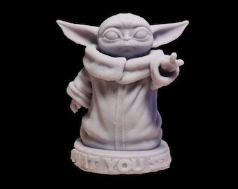 Baby Yoda - Grogu from the Mandalorian