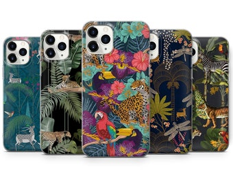 Samsung 8 9 S10 S9 S20 S8,Huawei P20 P30 Pro P40 Leopard A84 Chateau Cute Tiger print Phone Case For iPhone 11 Pro 5 6 7 8 X XS XR SE 12