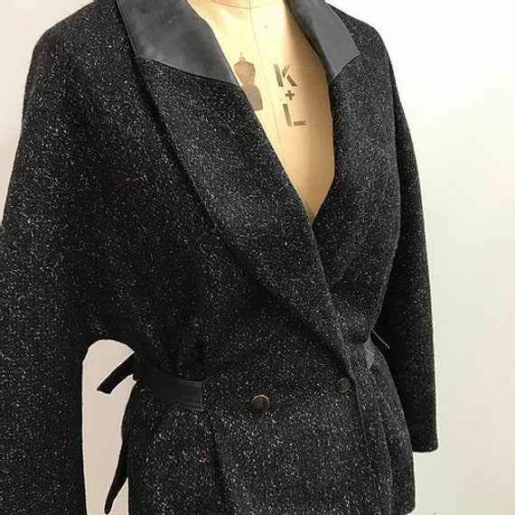 80's Wool Statement Suit
