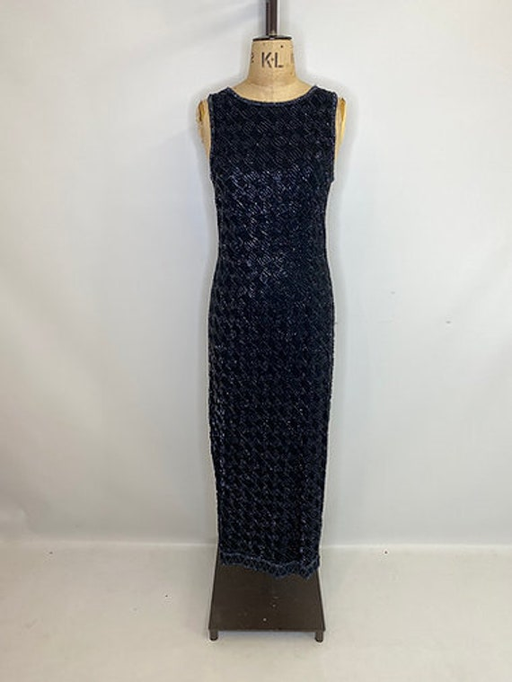20's Beaded Evening Dress