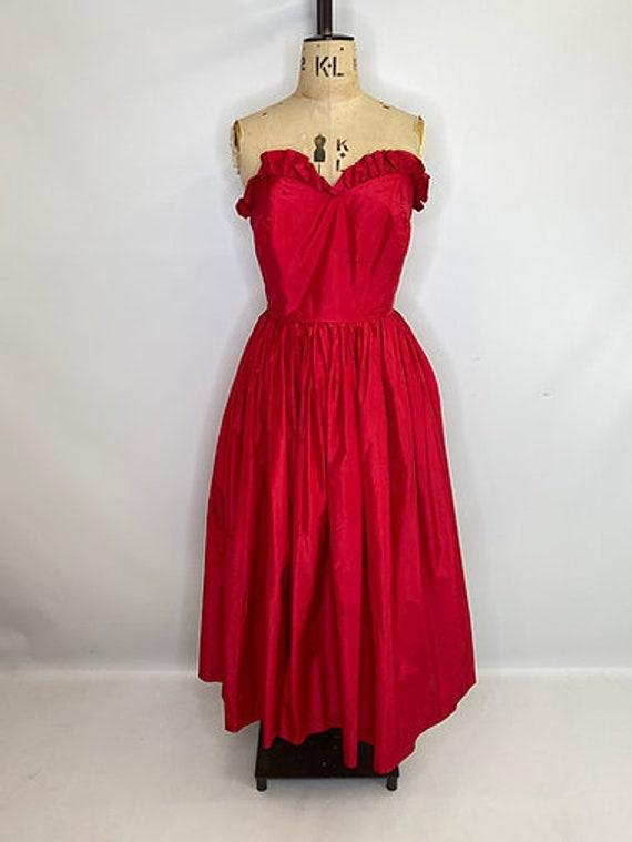 50's Sweetheart Prom Dress