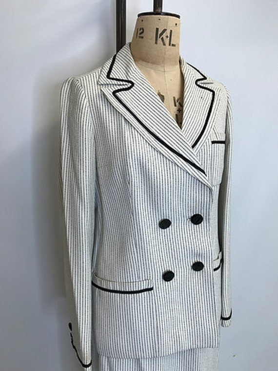 60's Vintage Christian Dior Diorling Wedding Suit