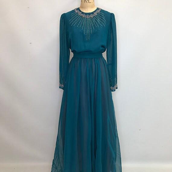 70's Vintage Jack Bryan Prairie Dress - image 3