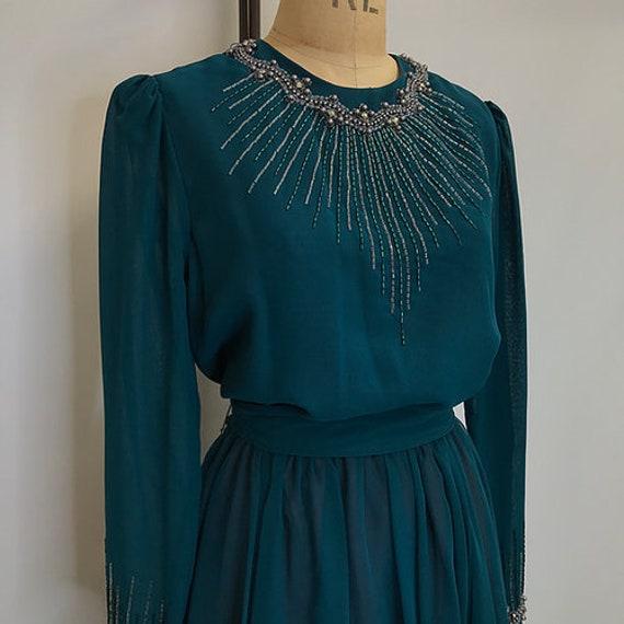 70's Vintage Jack Bryan Prairie Dress - image 2