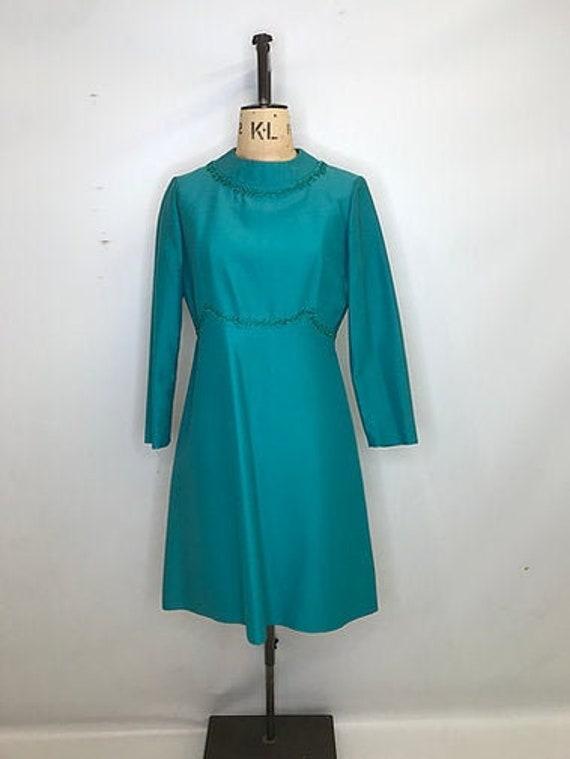 70's Petite Française Shift Dress