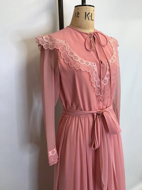 70's Jack Bryan Prairie Dress