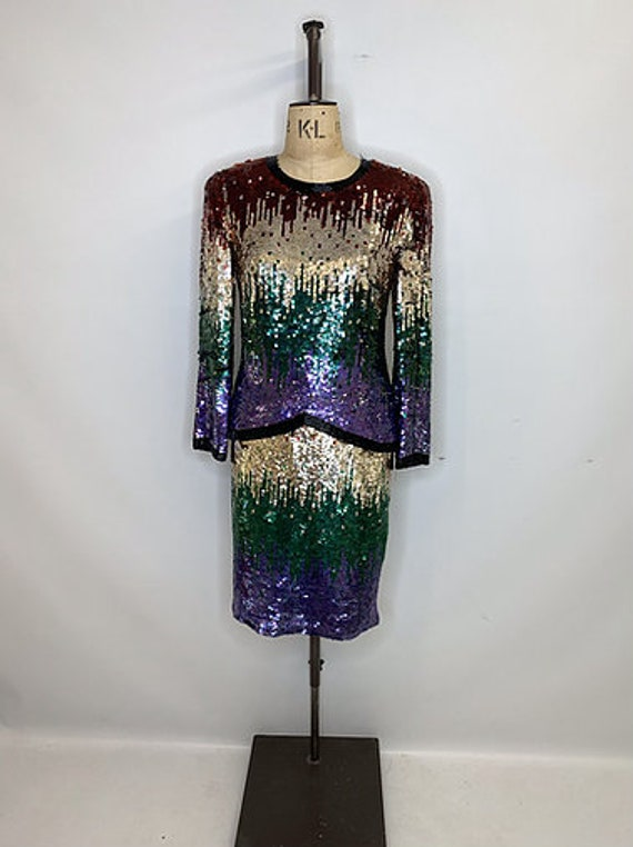 Frank Usher Sequin Suit
