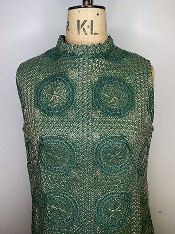 70's Brocade Dress