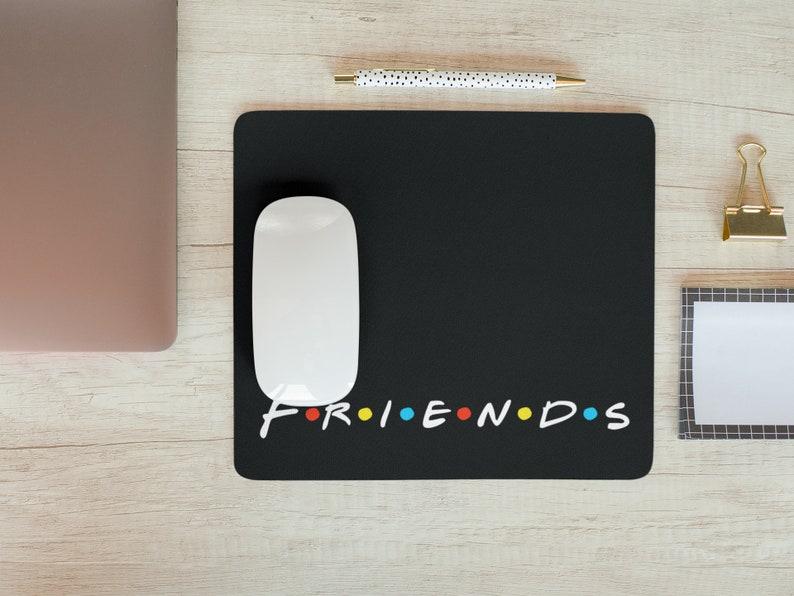 friends mouse pad Gaming desk pads Friends desk mat Customized mouse pad Personalized desk mat