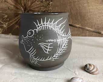 Fine cup of Petersfisch