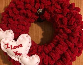 Valentines Mini Wreath