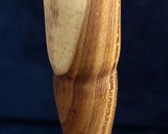 Handmade ballpoint pen, rain of gold, fixed mine, unique piece, unique, wood, gun metal, beautiful grain, handmade