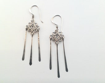 Comets earrings
