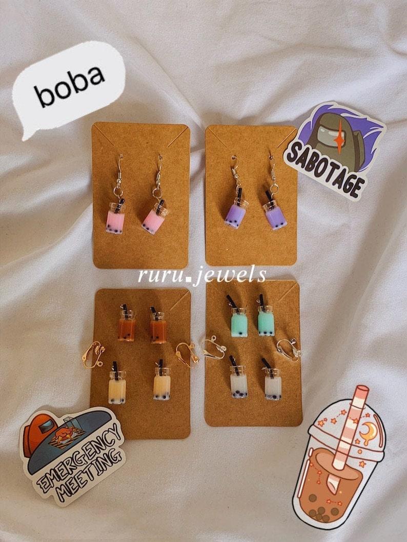 Aesthetic Boba Jewelry