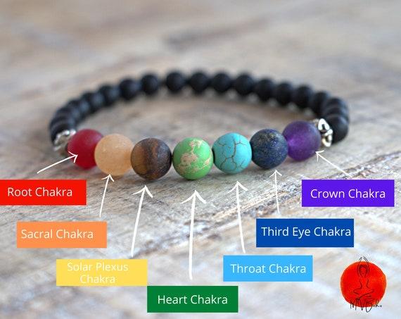 Chakra bracelet, mala bracelet, 7 chakra bracelet, Reiki jewelry