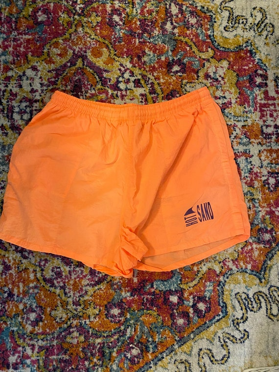 Vintage Hot sand swim trunks