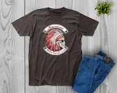 Biker - American Motorcycle - Indian Bikers Club T-Shirt