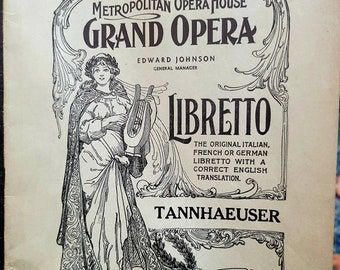 This package has it all! OPERA LIBRETTI ~ Italian French and German 20/% off of Sale Price