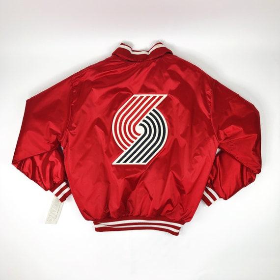 NWT VTG NBA Portland Trail Blazers Red DeLONG Jack