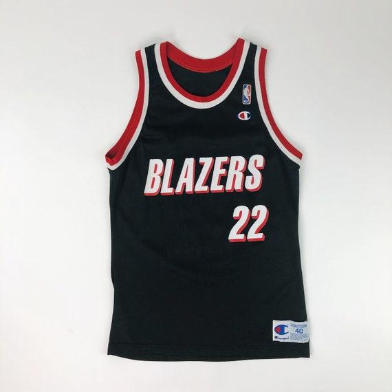VTG NBA Portland Trail Blazers Clyde Drexler #22 C