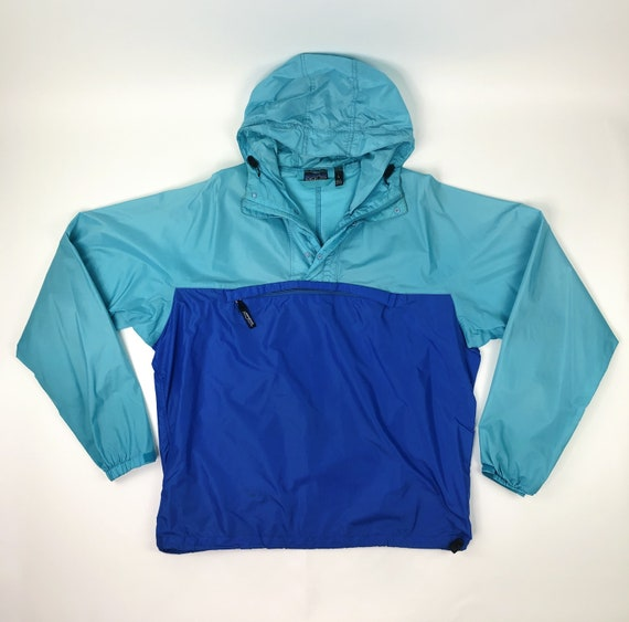 Patagonia Color Block Windbreaker Jacket Size Larg