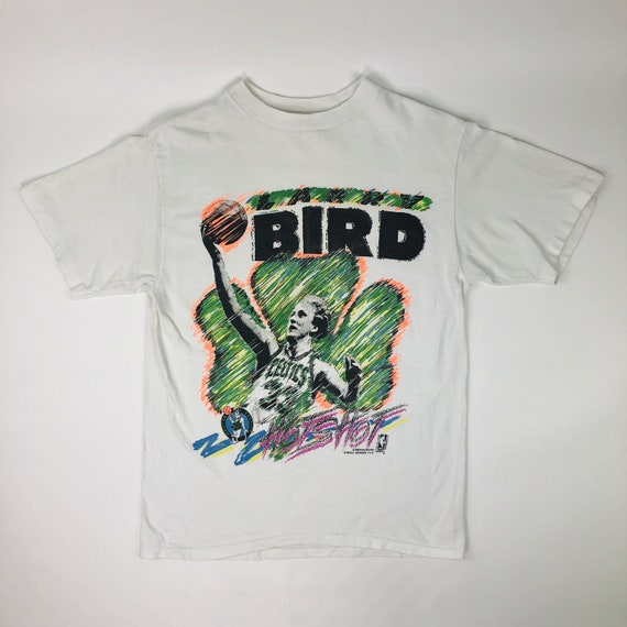 VTG NBA Larry Bird Magic Johnson T's Tee Adult Siz