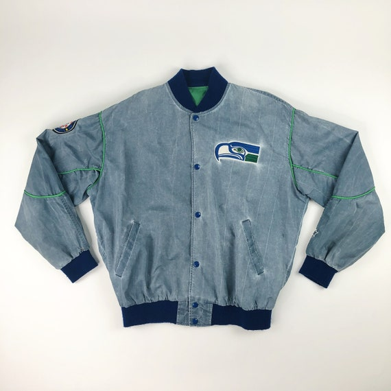 VTG NFL Rare Seattle Seahawks Starter Jacket Adult