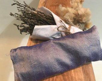 Eye Pillow with Dupioni Silk Cover