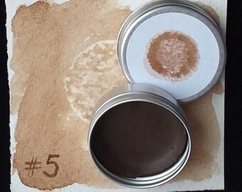 Burnt Sienna #5 (heat treated red ochre)