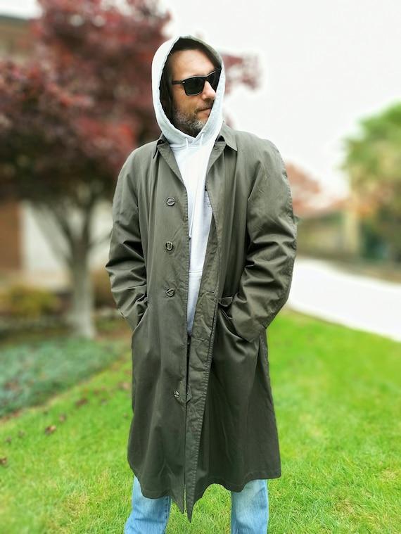 Men's raincoat Vintage waterproof original English