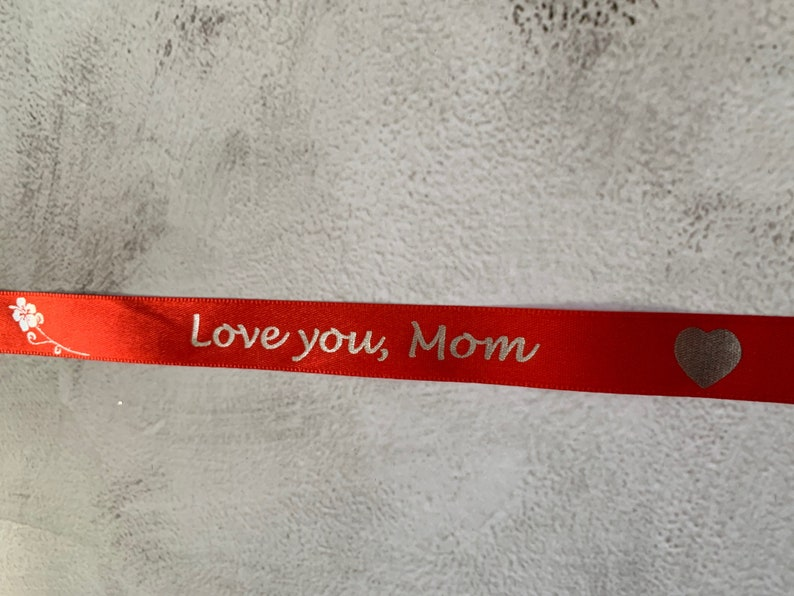 ADD ON Personalised satin ribbon add to gift bag only