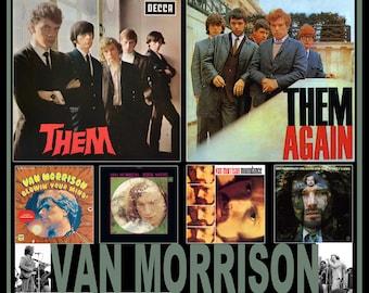 Van Morrison Them LP Poster