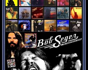 "Bob Seger ""LP Poster"""