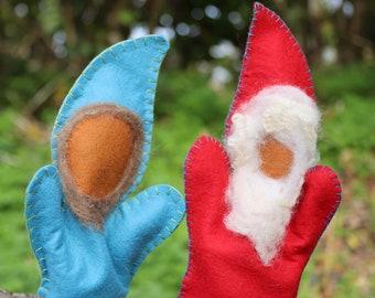 Gnome Glove Puppets