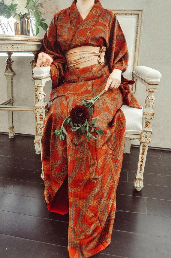 Magical Flute 70s Kimono Robe