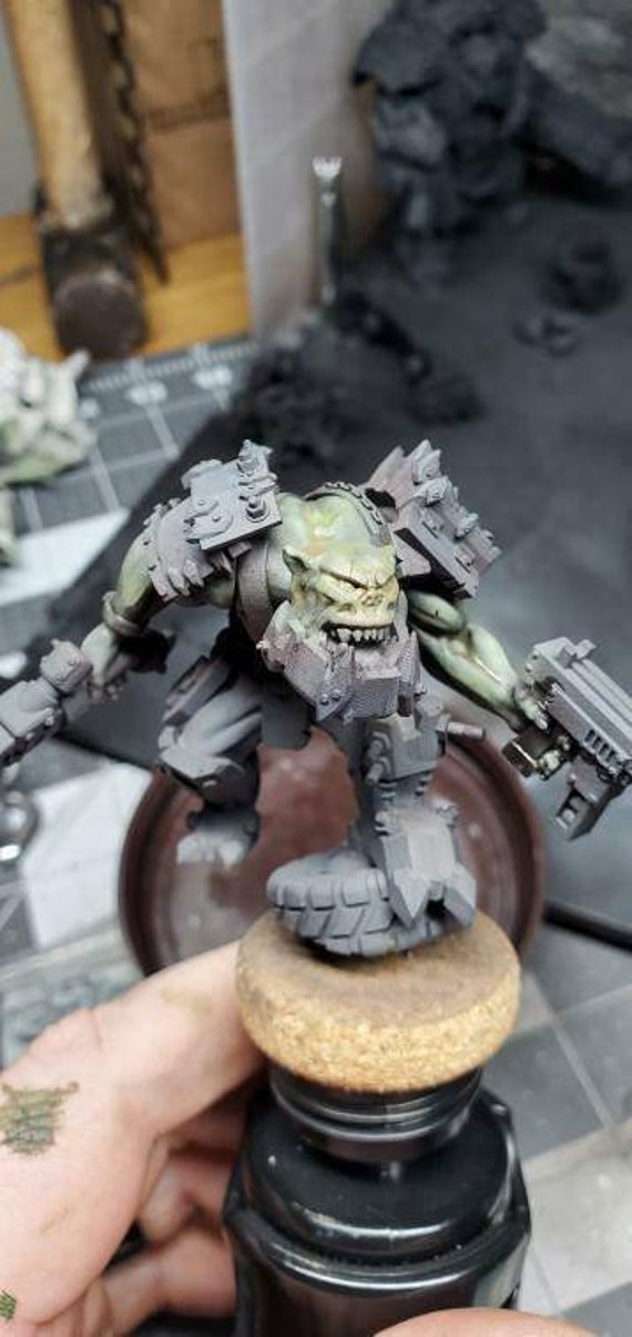 Orc Squad Models for Tabletop Wargaming