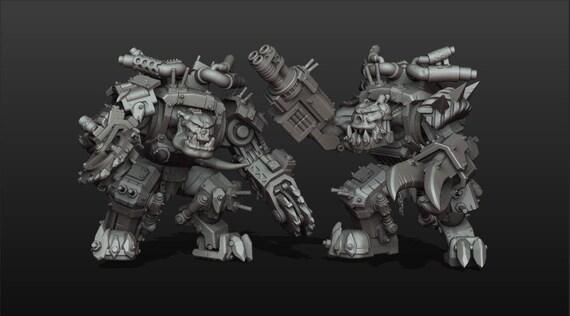 Orcs in Power Armor