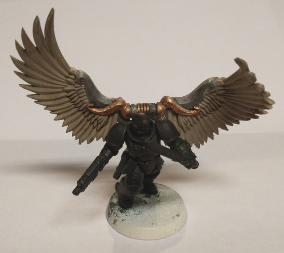 4 pack Winged Jet/Jump Pack Backpack for Tabletop Wargaming 28/32mm scale