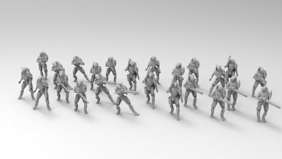 Taurian Army for Tabletop War Games
