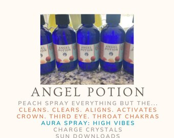 """Angel Potion Peach """"Spray Everything But The..."""""""