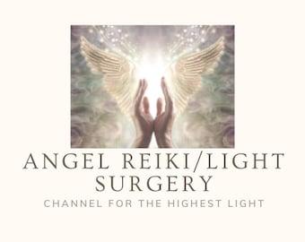 Angel Reiki and Light Surgery