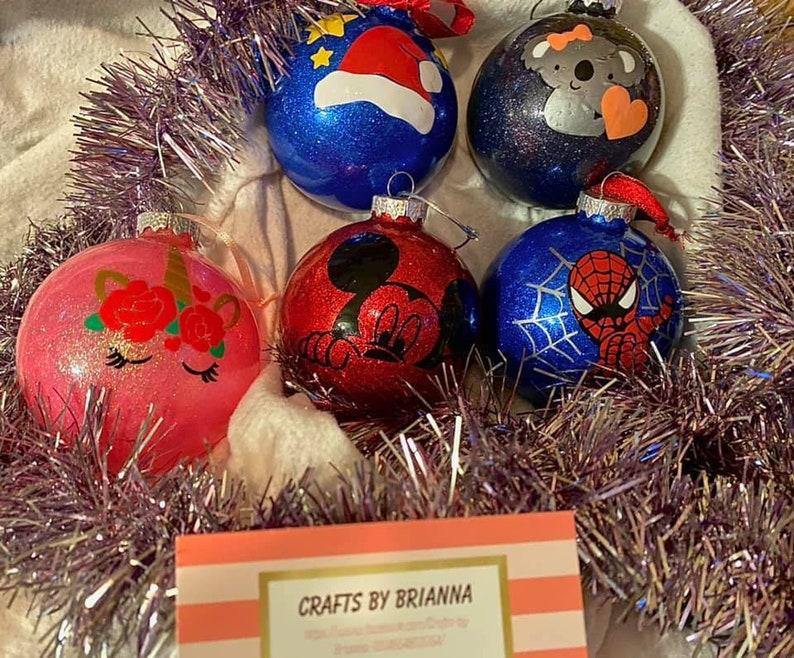 Custom Christmas Bulbs