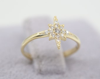 North Star Silver Ring