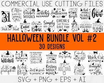 Halloween bundle svg, Halloween Vector, Witch svg, Ghost svg, Halloween shirt svg, Pumpkin svg, Sarcastic svg, Cricut, Silhouette png