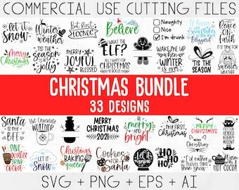 Christmas SVG Bundle, Merry Christmas svg, Christmas Ornaments Svg, Winter svg, Funny christmas svg, Christmas shirt, Xmas svg, Santa svg