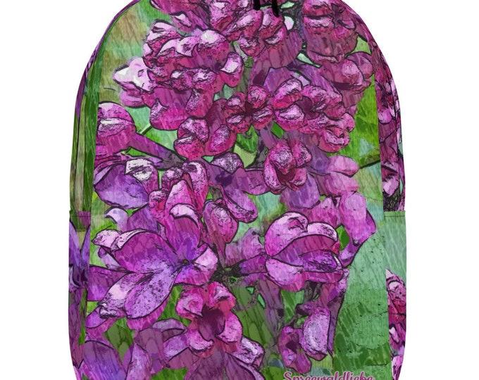 Minimalist Backpack - Wild Lilac - Spreewaldliebe