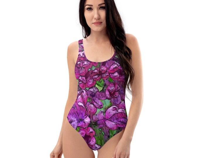One-Piece Swimsuit - Wild Lilac - Spreewaldliebe