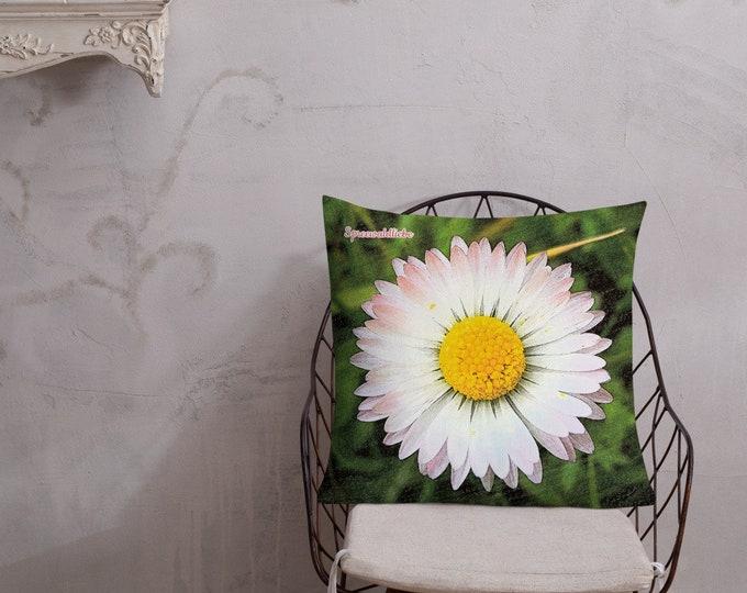 XL Premium Pillow - Daisies - Spreewaldliebe