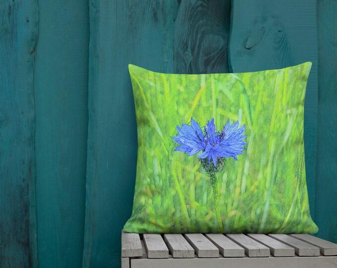 XL Premium Pillow - Cornflower - Spreewaldliebe