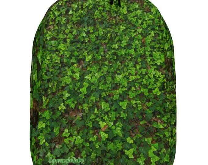 Minimalist Backpack - green Ivy - Spreewaldliebe